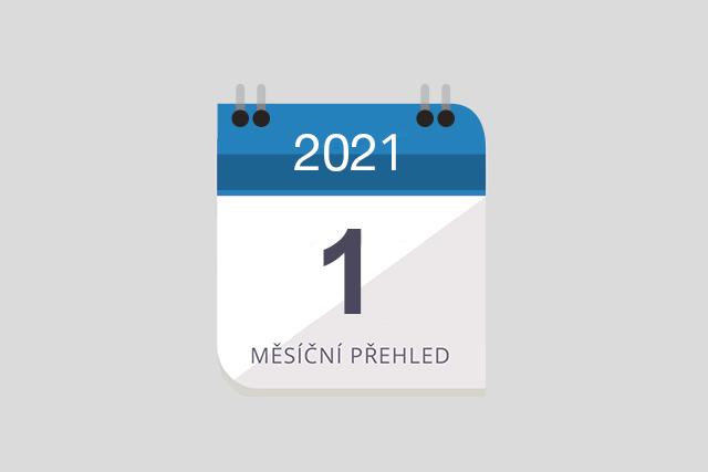 [Leden 2021] Ruční výběr klíčových událostí pro malé a střední firmy