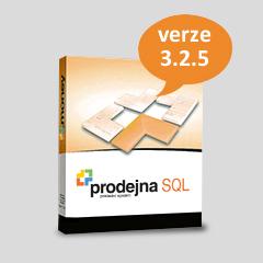 Změny a novinky Prodejny verze 3.2.5